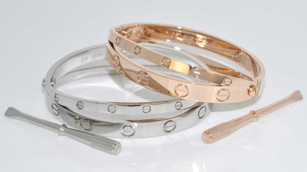 replica love bracelet cartier bubble