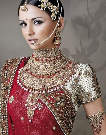 Indian Gold Jewellery Necklace Designs For Jewelry