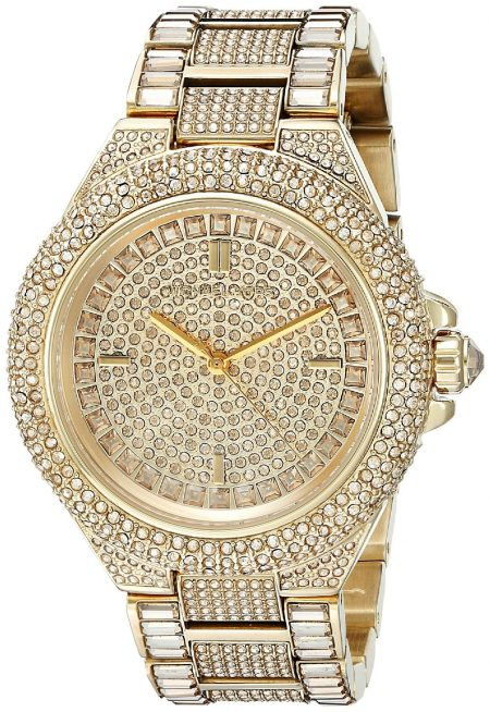 Michael Kors Women's MK5720 Camille Gold-Tone Crystal Watch Review
